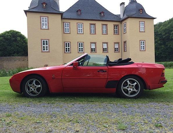Sports Car Car Auto Porsche 944 Convertible Luxury