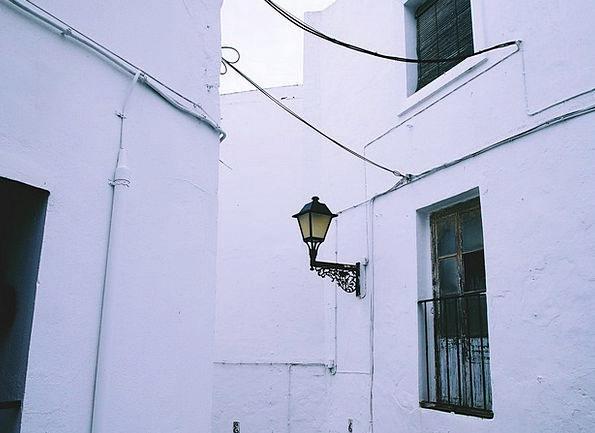City Buildings Architecture Spain Town Downtown Wh