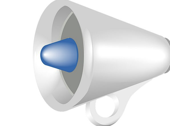 Megaphone Lurid Amplify Intensify Loud Sound Compl