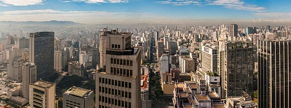 Skyline Horizon Buildings Architecture Urban City