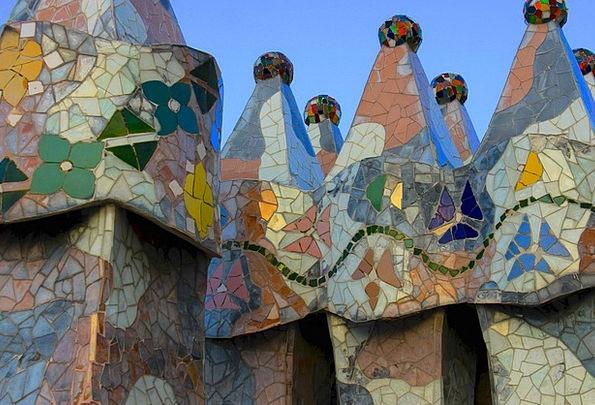 Mosaic Medley Buildings Architecture Casa Batlo Ga