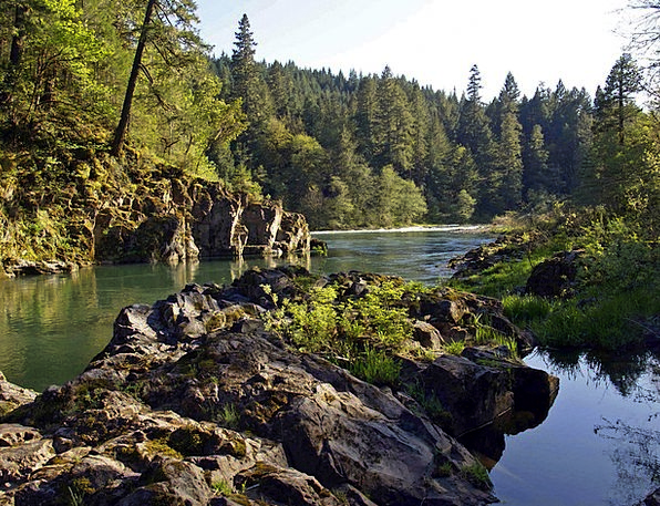 Rocky Stony Landscapes Stream Nature Bed Divan Riv