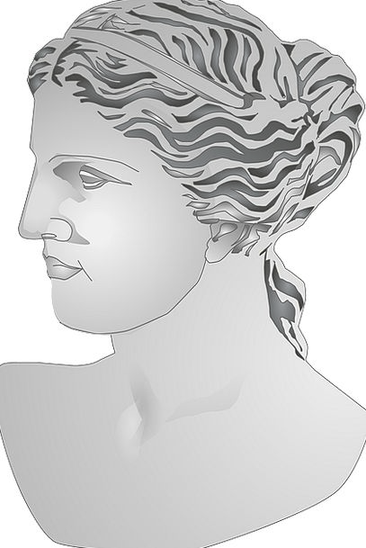 Bust Broken Fashion Classical Beauty Statue Figuri
