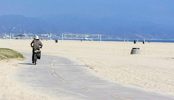 Beach Seashore Vacation Bike Travel County Region
