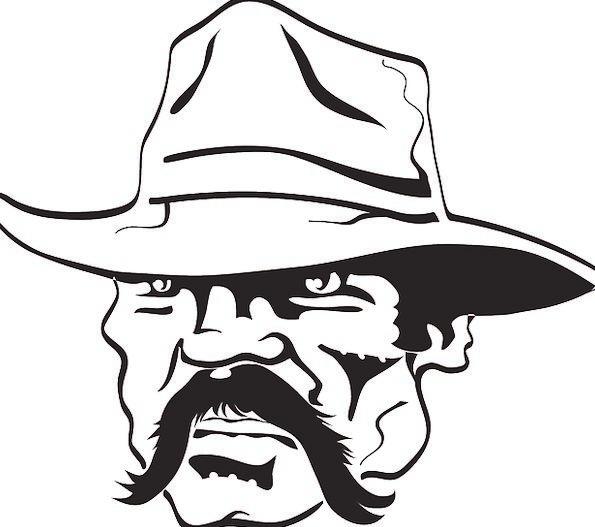 Cowboy Unreliable Cap Mustache Mustachio Hat Mexic