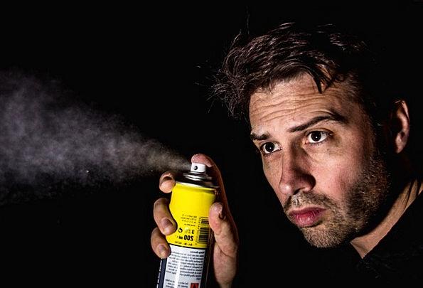Spray Sprig Nightly Box Container Night Spray Can