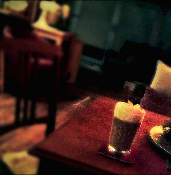 Coffee Chocolate Like Batten Board Enjoy Beverages