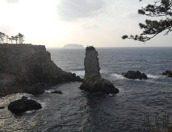 Jeju Island Isle Sea Marine Island