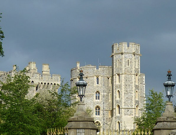 Windsor Castle Buildings Architecture Castle Winds