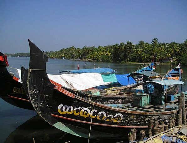 India Ships Vessels Boats Old Ancient Kerala