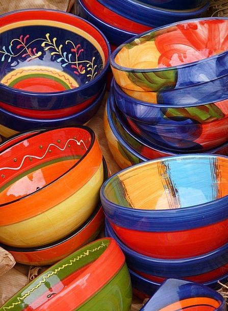 Pottery Earthenware Art Ceramic Colorful Interesti