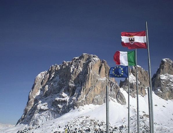 Dolomites Landscapes Streamers Nature Landscape Sc