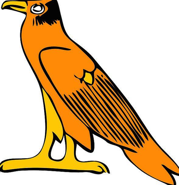 Eagle Antique Egyptian Ancient Spirit Animal Physi