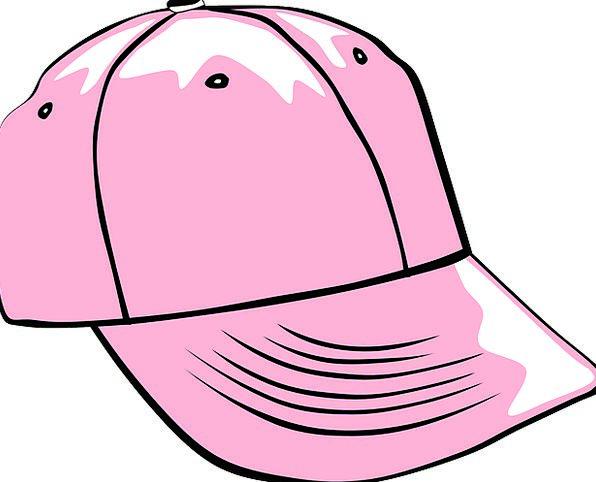 Cap Lid Baseball Hat Pink Flushed Girly Worn Free
