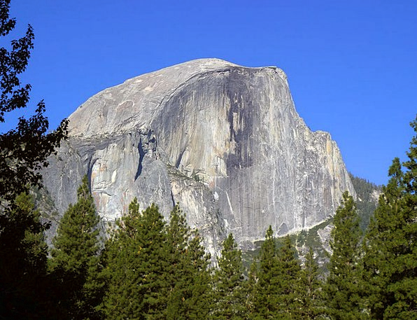 Half Dome Landscapes Nature Valley Vale Yosemite S