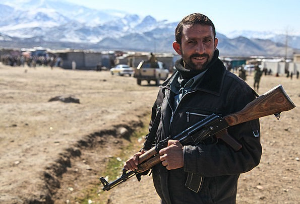 Army Military Armament Afghani Weapon Soldier Rebe