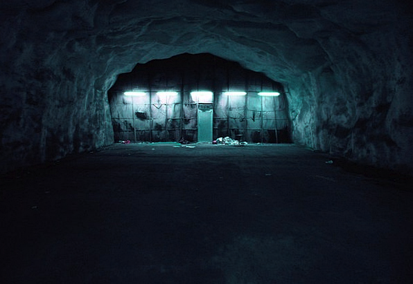 Bunker Shelter Dim Basement Cellar Dark Soprum