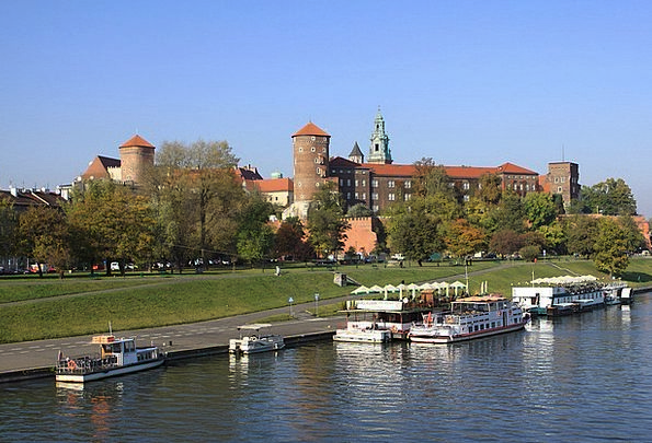 King Monarch Buildings Architecture Poland Krakow