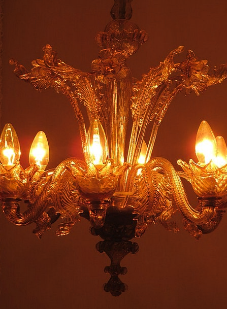 Chandelier Uplighter Candles Tapers Lamp Lighting