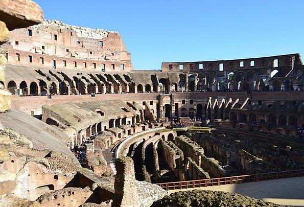 Coliseum Italy Rome Arena Stadium Antique Old