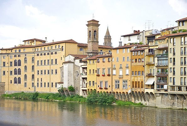 Florence Buildings Architecture City Italy River C