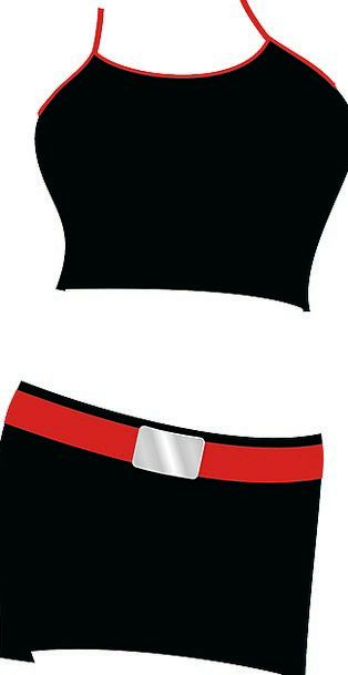 Clothing Sartorial Fashion Females Beauty Black Da