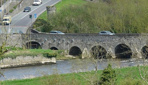 Ireland Monuments Bond Places Water Aquatic Bridge
