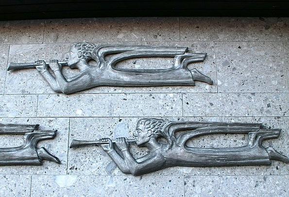 Relief Respite Sign Angel Seraph Symbol Trombone F