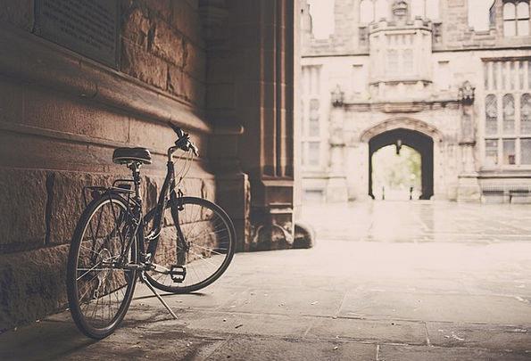 Bicycle Motorbike Urban City Bike Grunge Grime Bik