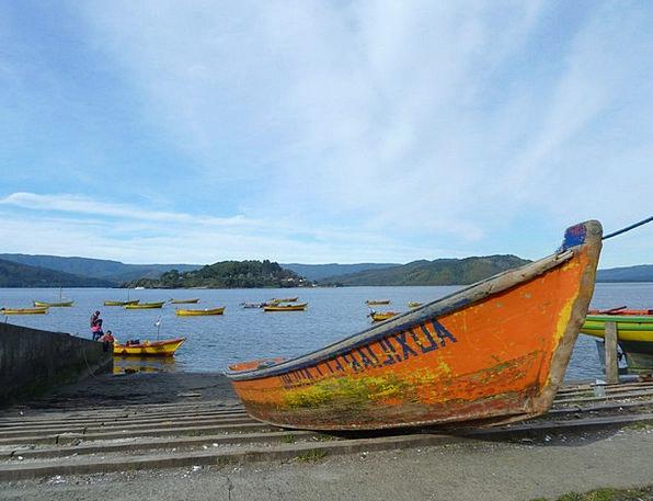 Boot Gumboot Valparaiso Chile