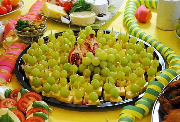 Buffett Drink Food Cheese Grapes Food Nourishment