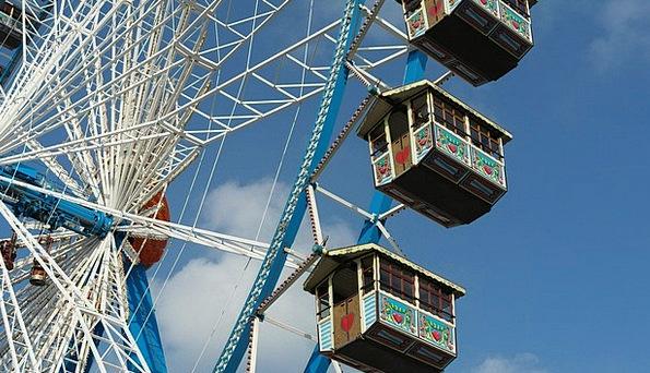 Ferris Wheel Munich Oktoberfest Bavaria Ride Trip
