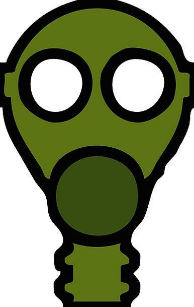 Gas Air Cover Breathe Respire Mask Free Vector Gra