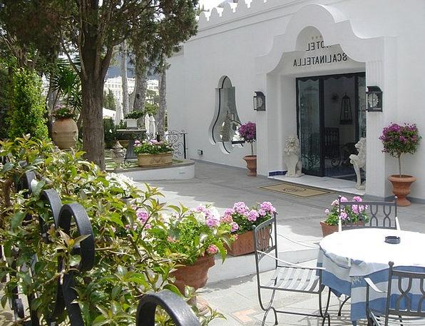 Capri Buildings Architecture Hotel Terrace Italy A