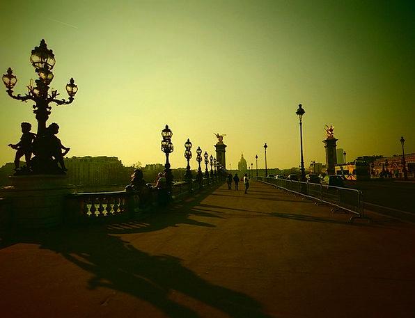 Paris Its His France Bridge Bond