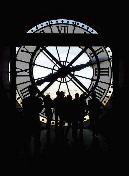 Paris Timepiece Time Period Clock Architecture Peo