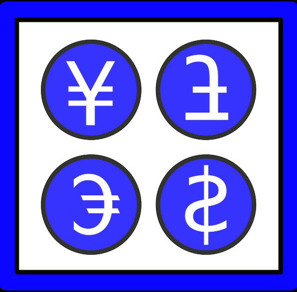 Currency Signs Currency Symbols Money Signs Yen Symbol Money