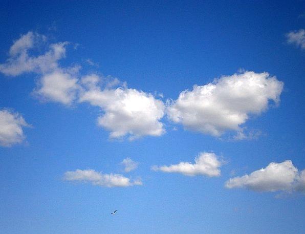 Clouds Vapors Sky Clouds Form Blue Azure White Sno