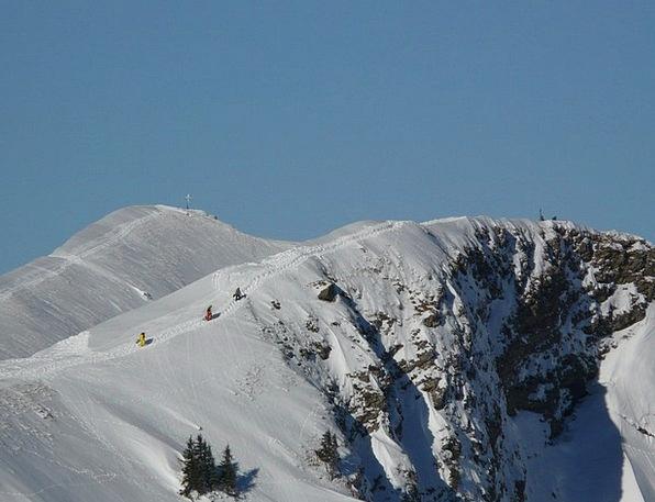 Mountain Crag Landscapes Nature Rise Increase Ski