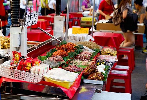 Namdaemun Market Drink Food Korea Seoul Ingredient