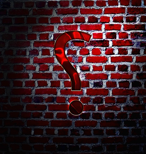 Question Mark Doubt Partition Punctuation Marks Wa