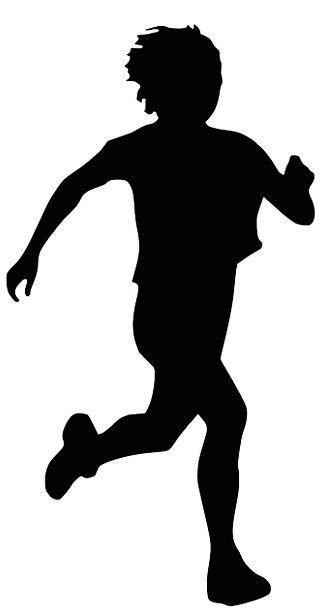 Runner Sprinter Diversion Jogging Nudging Sport Si