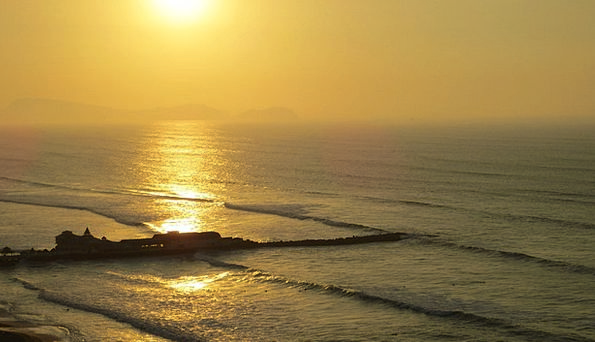 Sunset Sundown Vacation Marine Travel Sand Shingle