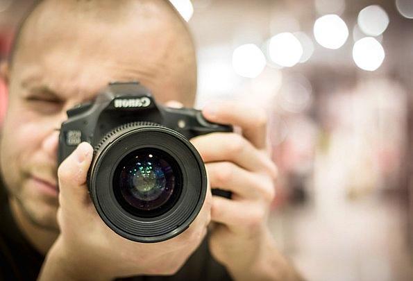 Photographer Paparazzo Photo Photograph Camera Pho