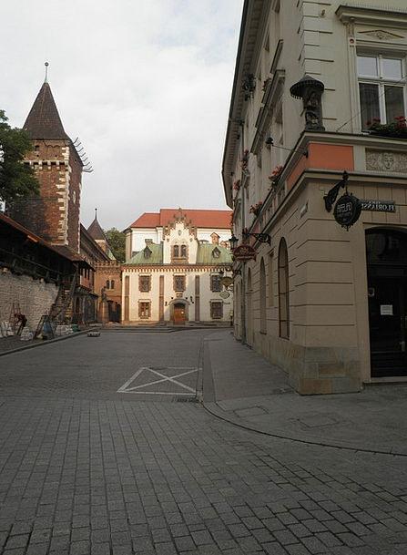 Poland Ul Florianska Krakow