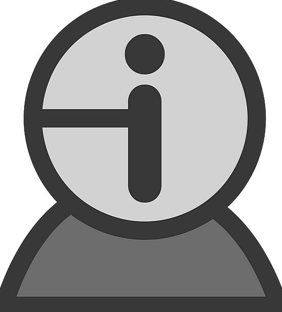 User Operator Outline Info Information Profile Ico