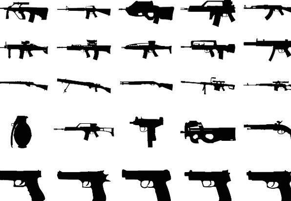 Guns Arms Shotgun Weapons Handgun Firearms Rifle P