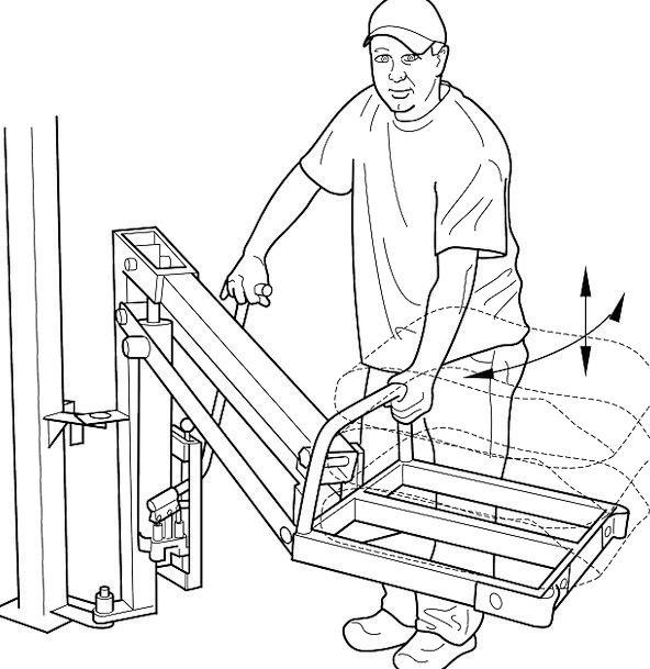 Hydraulic Craft Boost Industry Working Employed Li
