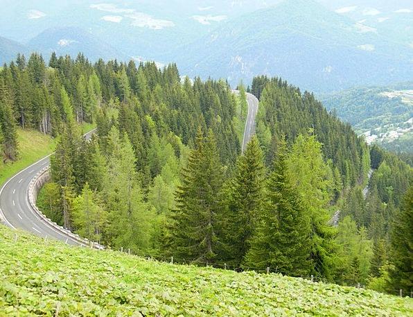 Roßfeld Berchtesgaden High Alpine Road Bavaria Mou