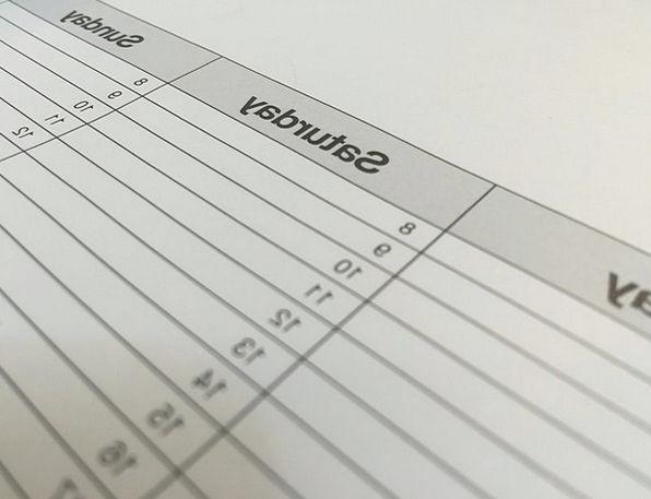 Calendar Almanac Day Dates Days Date Writing The D